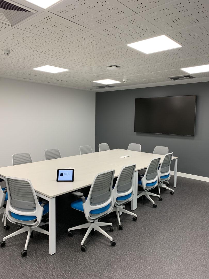Salas de Reuniones y Espacios Ejecutivos